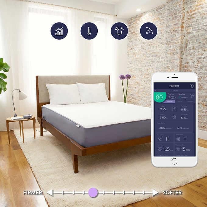 Eight Sleep Mattress (Costco Mailer) Sleep Tracking and Temp Control Mattress: Queen $749, King $849