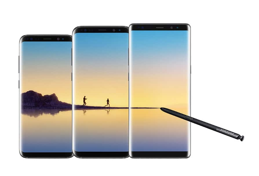 IN STORE ONLY: Get $300 towards Unlocked S8, S8+, or Note 8 with trade-in of eligible Samsung device