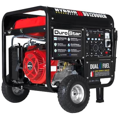 DuroStar 12000-Watt Gasoline/Propane Portable Generator with Oem Engine $999.99