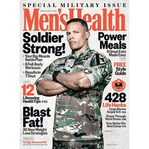 94% Off Men's Health Print Magazine $0.99 4 issues/4months