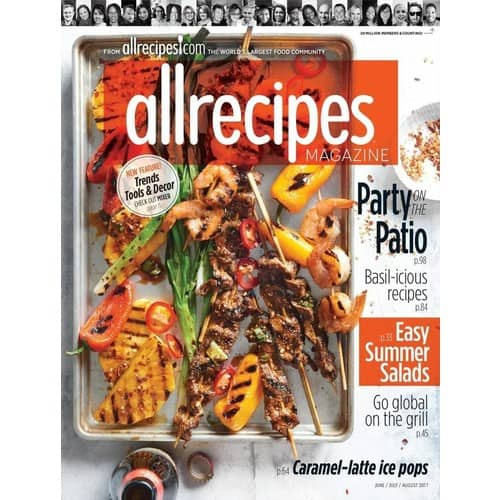 83% Off AllRecipes Print Magazine $5