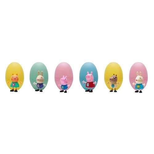 Astounding 21 Off Peppa Pig Action Figure Pack Of 6 Easter Egg Ocoug Best Dining Table And Chair Ideas Images Ocougorg