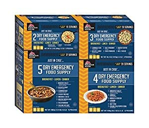 Expired - Prime Only: Mountain House Just In Case 14-Day Emergency Food Supply Kit $133.38 AR and instant savings