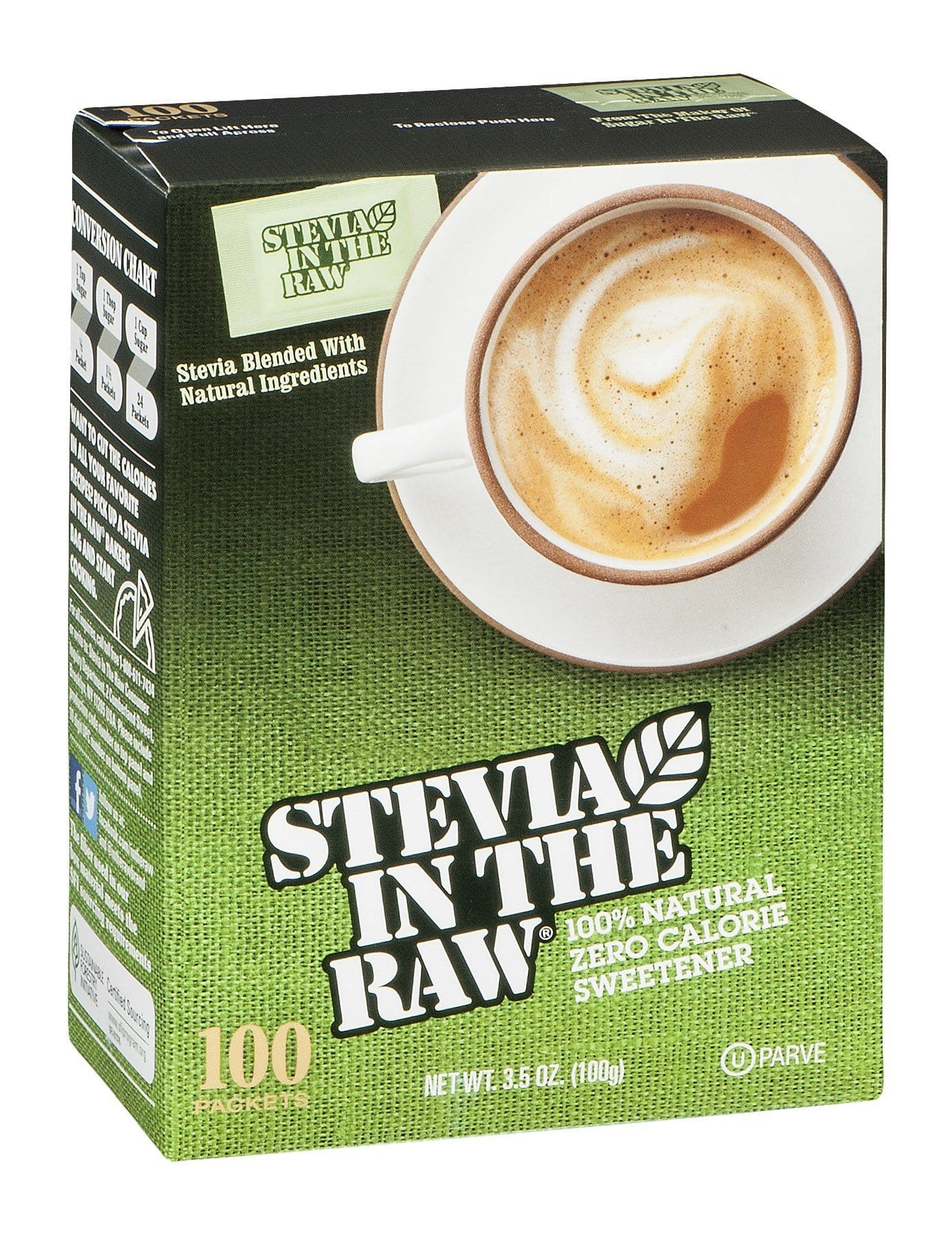 Stevia In The Raw Sugar Substitute, 2.64 Ounce Jar $4.70 w/ S&S + Free S/H