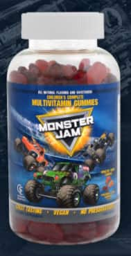 Kids Monster Jam Multi-Vitamin Gummies 8.99 $8.99