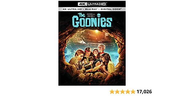 The Goonies (4K Ultra HD + Blu-ray + Digital) $9.99
