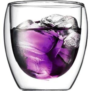 2-Pack of 8oz Bodum Pavina Double Wall Glasses $13.50