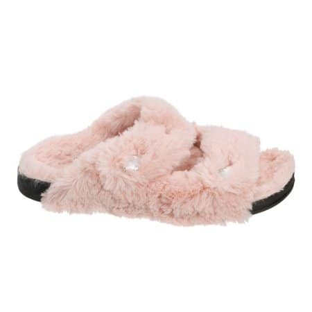 7009f130cb1f Dearfoams - Dearfoams Women s Double Strap Slide Slippers  16.95 + ship -  Slickdeals.net