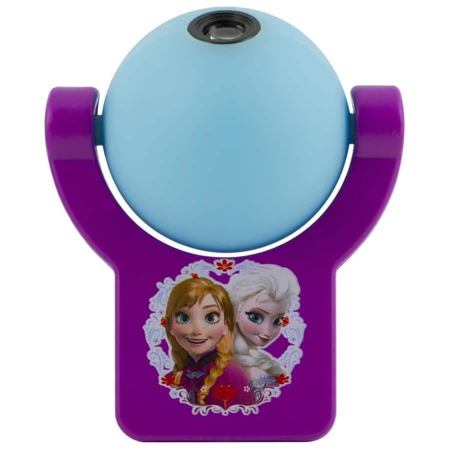 Lowes Projectables Disney Frozen Purple/Blue LED Night Light with Auto On/Off  2.79 was 13.98