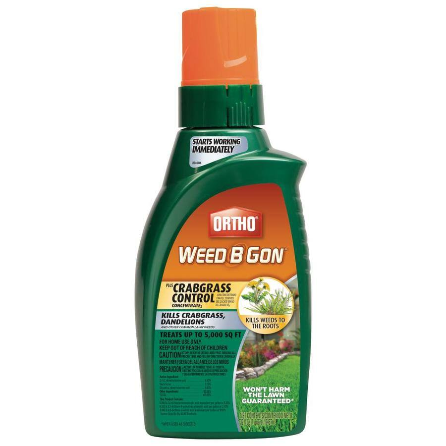ORTHO Weed B Gon 32-oz Concentrated Lawn Weed Killer 2.37 @ Lowes YMMV