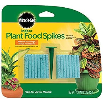 Miracle-Gro Indoor Plant Food, 48-Spikes $1.97