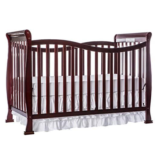 Dream On Me Violet 7 in 1 Convertible Life Style Crib, Cherry $96.66 + FREE SHIP WITH PRIME