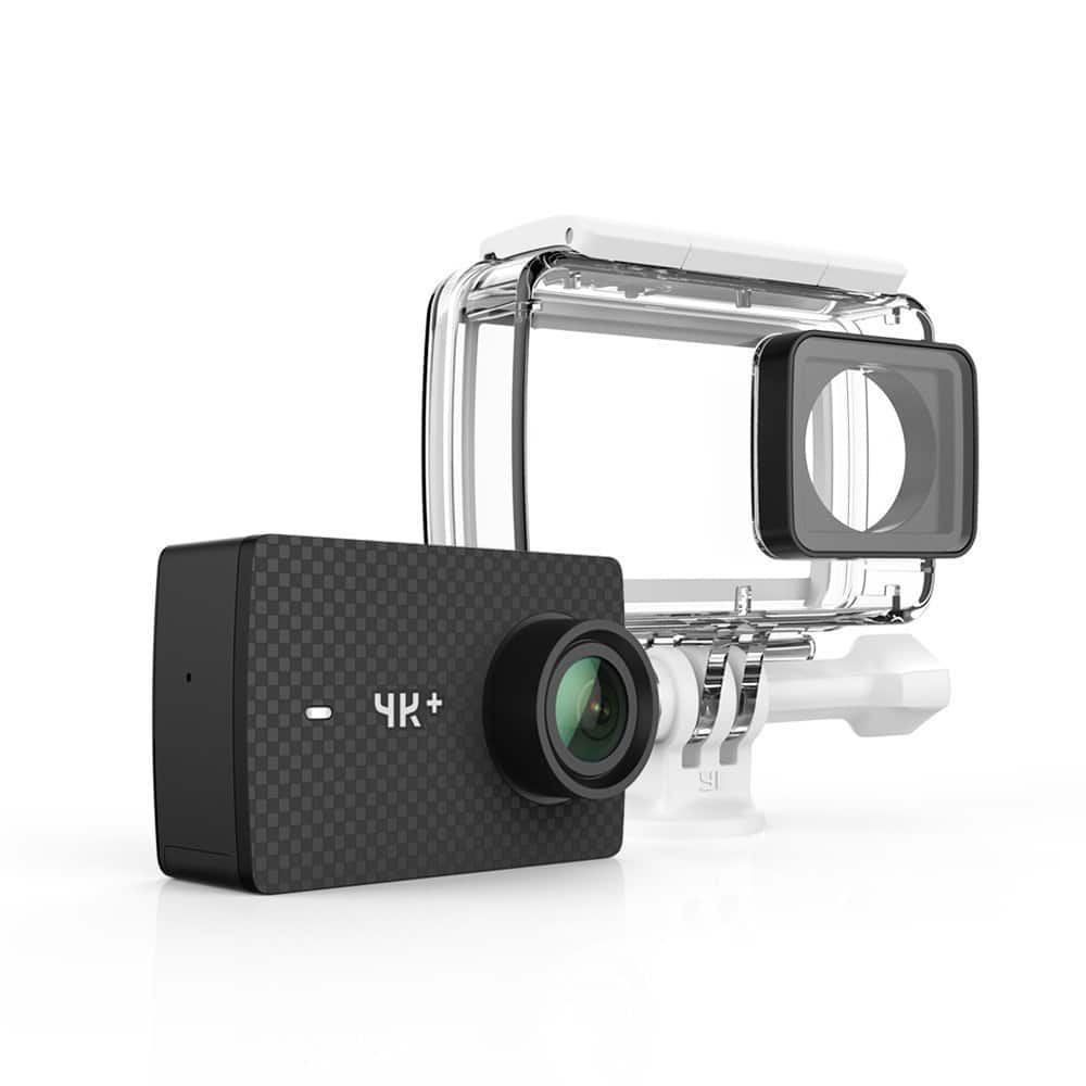 YI 4K+/60fps Action Camera with Waterproof Case, Plus Voice Control, Live Streaming, and 12MP RAW image (Black) $214.39 + free shipping