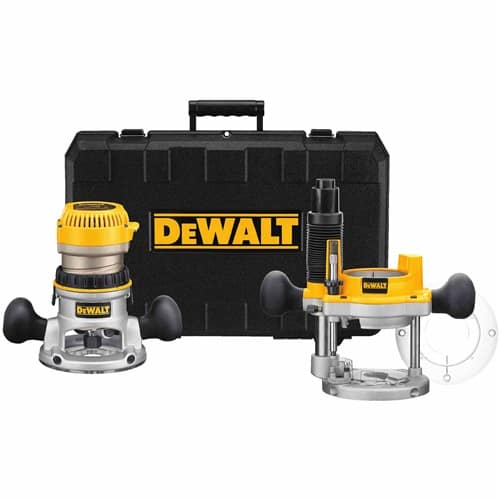 Dewalt 2-1/4 hp Router w/ 2 bases (fixed & plunge) Home Depot via Google Express $155.97