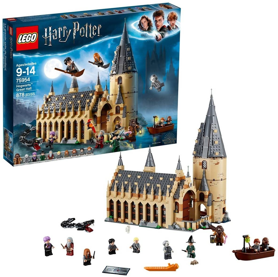 Shipped + $10 Target Gift Card w/ LEGO Harry Potter Hogwarts Great Hall 75954 $99.99
