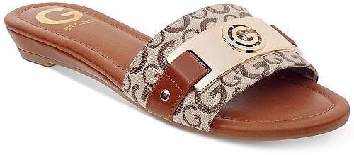 G By Guess Women's Jeena Slide Flat Sandals $19.60