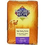 15-Lb Nature's Recipe Lifestages Senior Dog Food (Lamb & Rice)  $15.50