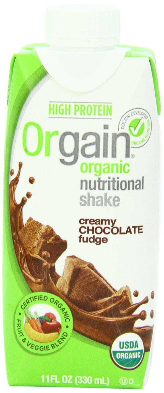 Orgain Creamy Organic Cafe Mocha or Strawberry Protein Drink 12-pack $13.33 w/Amazon S&S