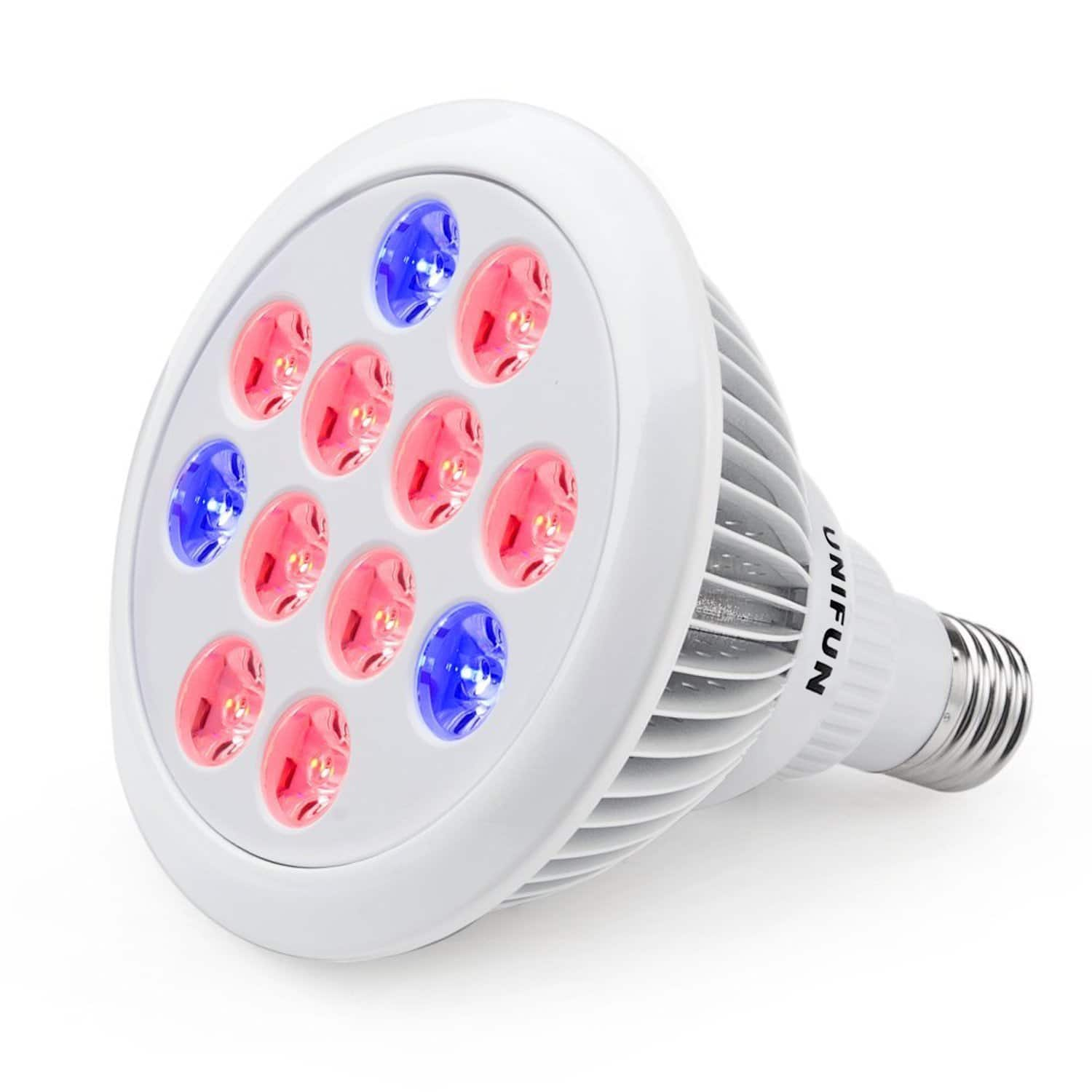 UNIFUN 24W LED Plant Grow Light $14.99 AC @ Amazon