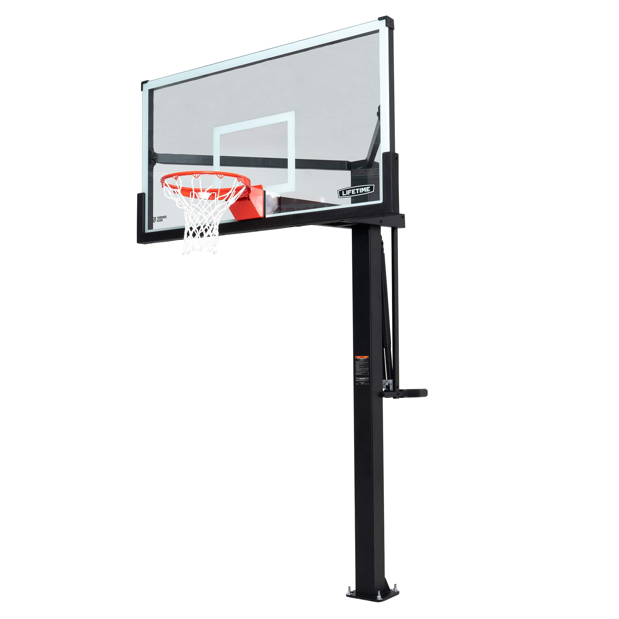 Lifetime Mammoth in-ground Basketball Hoop (72-Inch Tempered Glass), 90964 - Walmart.com $1538.19 + $49.97 Shipping