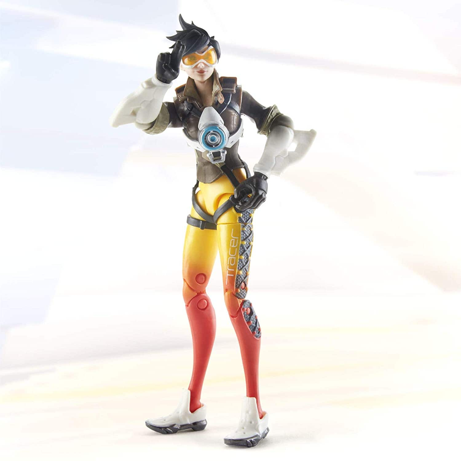 """Hasbro Overwatch Ultimates Series Tracer 6"""" Collectible Action Figure - $4.72"""