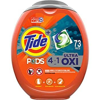 Tide PODS Plus Downy 4 in 1 HE Turbo Laundry Detergent Pacs, April Fresh Scent, 61 Count Tub - $13.78