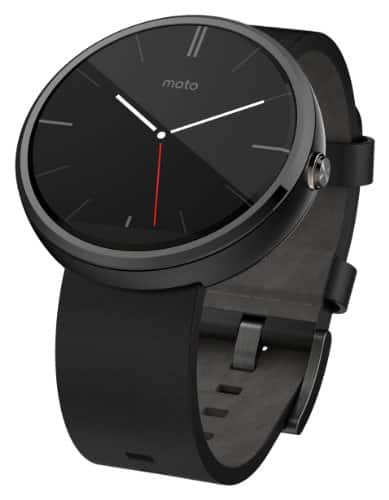 Motorola Moto 360 smartwatch, 1st generation, $99.99 at AT&T corporate stores