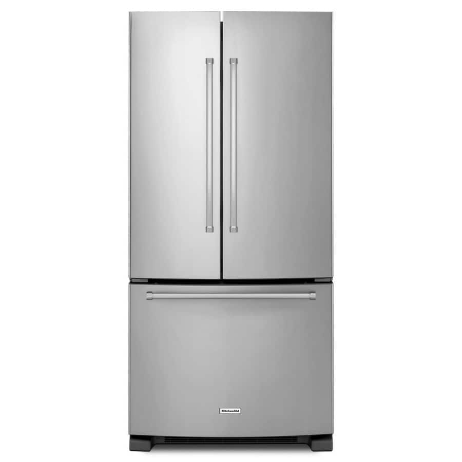 KitchenAid 22.1-cu ft French Door Refrigerator with Ice Maker - $1,096 or less