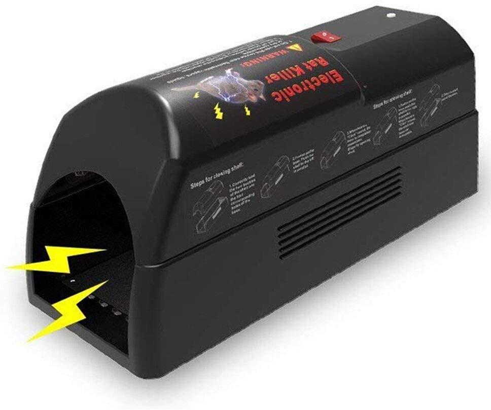 Aspectek Electronic Rat Trap Rodent Mice and Squirrels Exterminator Safe $34.99