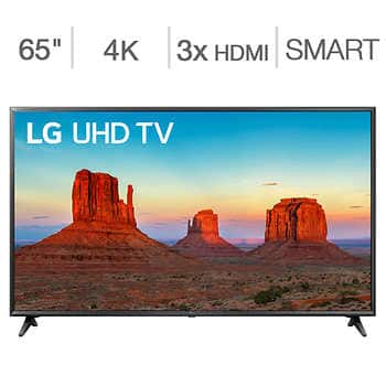 "Costco: 65"" LG 65UK6090PUA 4K WebOS SmartTV for $589.99 B&M"