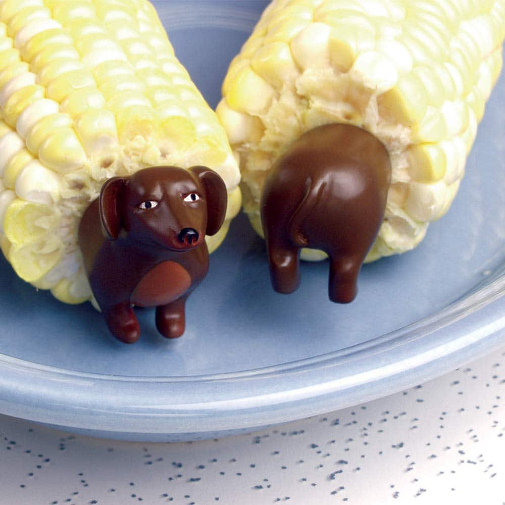 Dog Corn Holders (8 Pieces) - Perfect Gift For Dachshund Lovers - $4.50