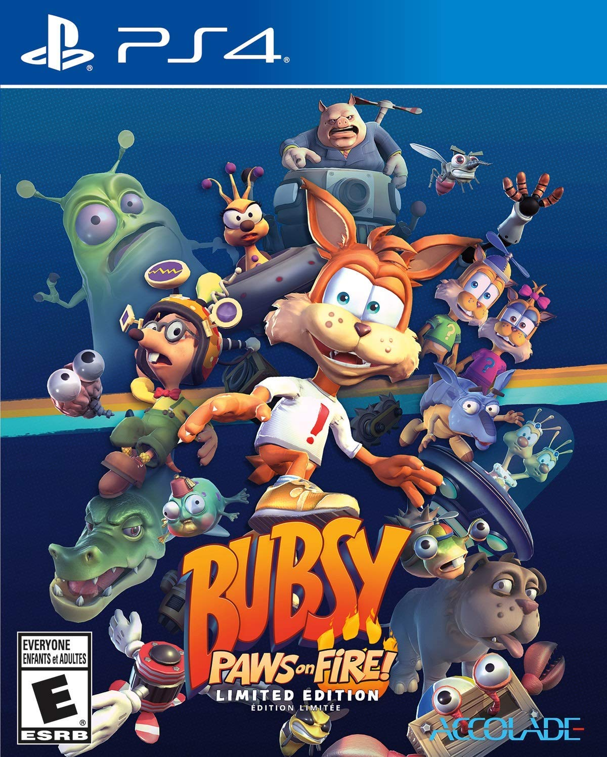 Bubsy: Paws On Fire! Limited Edition - PS4 $14.99