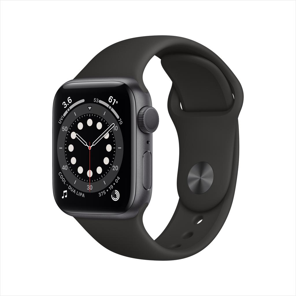 Apple Watch Series 6 GPS, 40mm Space Gray - Walmart.com - $374.98
