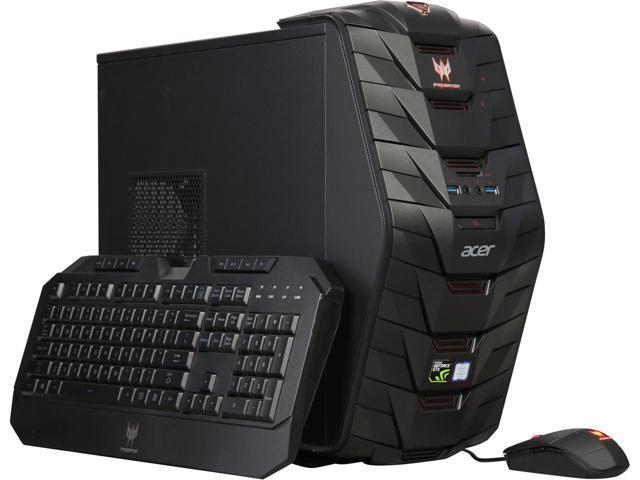 (Refurb) $989 Acer Desktop Computer Predator G3-710-UC11 Intel Core i7 7th Gen 7700 32 GB DDR4 1 TB HDD 256 GB SSD NVIDIA GeForce GTX 1070