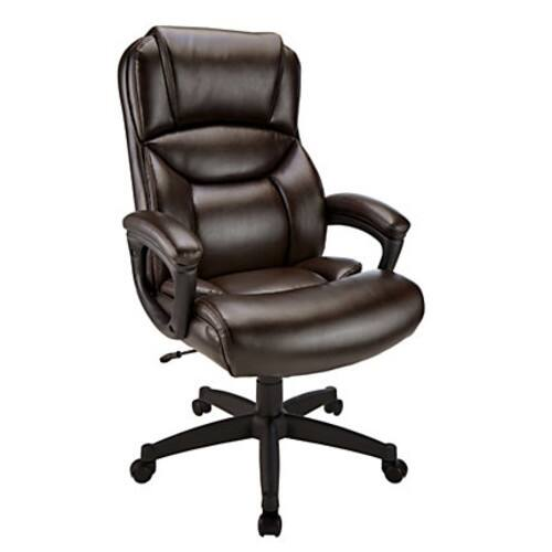 Realspace Fennington Chair BrownBlack $89.99 + fs