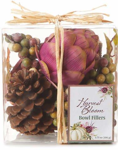 Artichoke, Grapes & Pinecones Bowl Filler $5.00 + ship