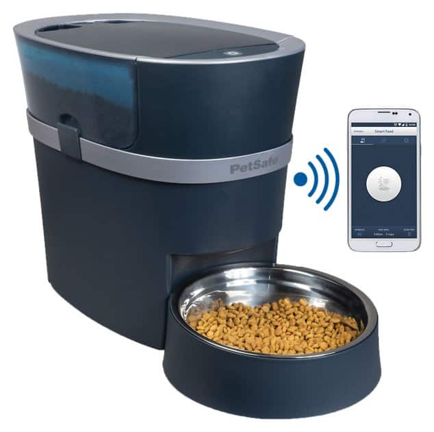 PetSafe Smart Feed Automatic Pet Feeder for iPhone & Android $132.95
