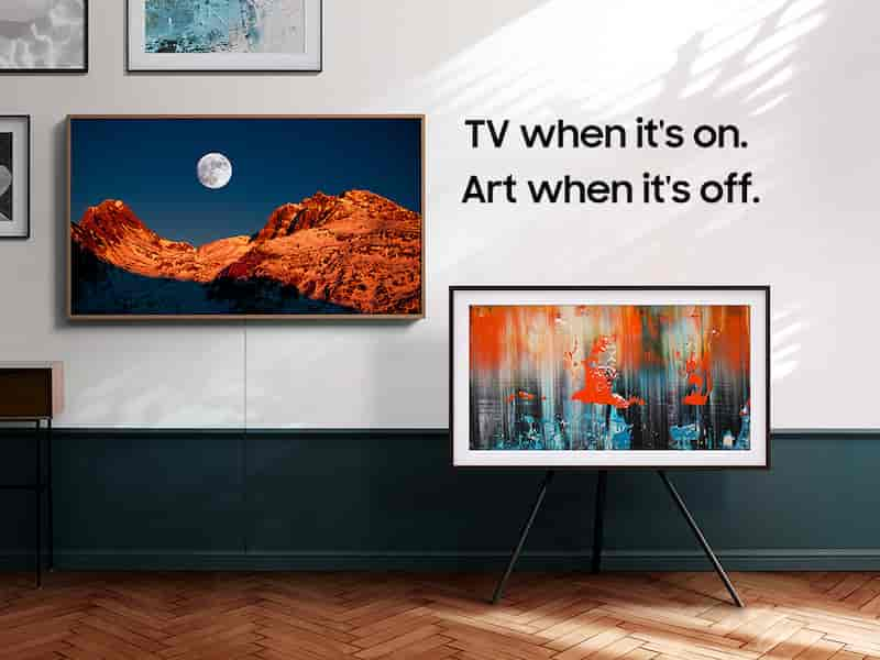 SamSung 32' The Frame QLED HDR Smart TV (2020)  $479.99 freeshipping &more at SamSung official website