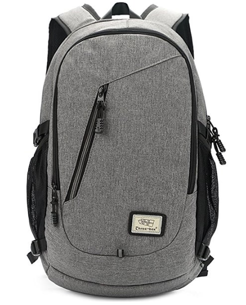 ZEBELLA 15.6 Inch Laptop Backpack with USB Port for $12.99 @Amazon