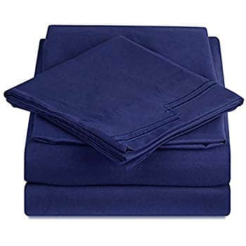 SEPOVEDA Full Bed Sheet Set Brushed Microfiber Wrinkle Fade and Stain Resistant Bedding Set for $12.60 @Amazon