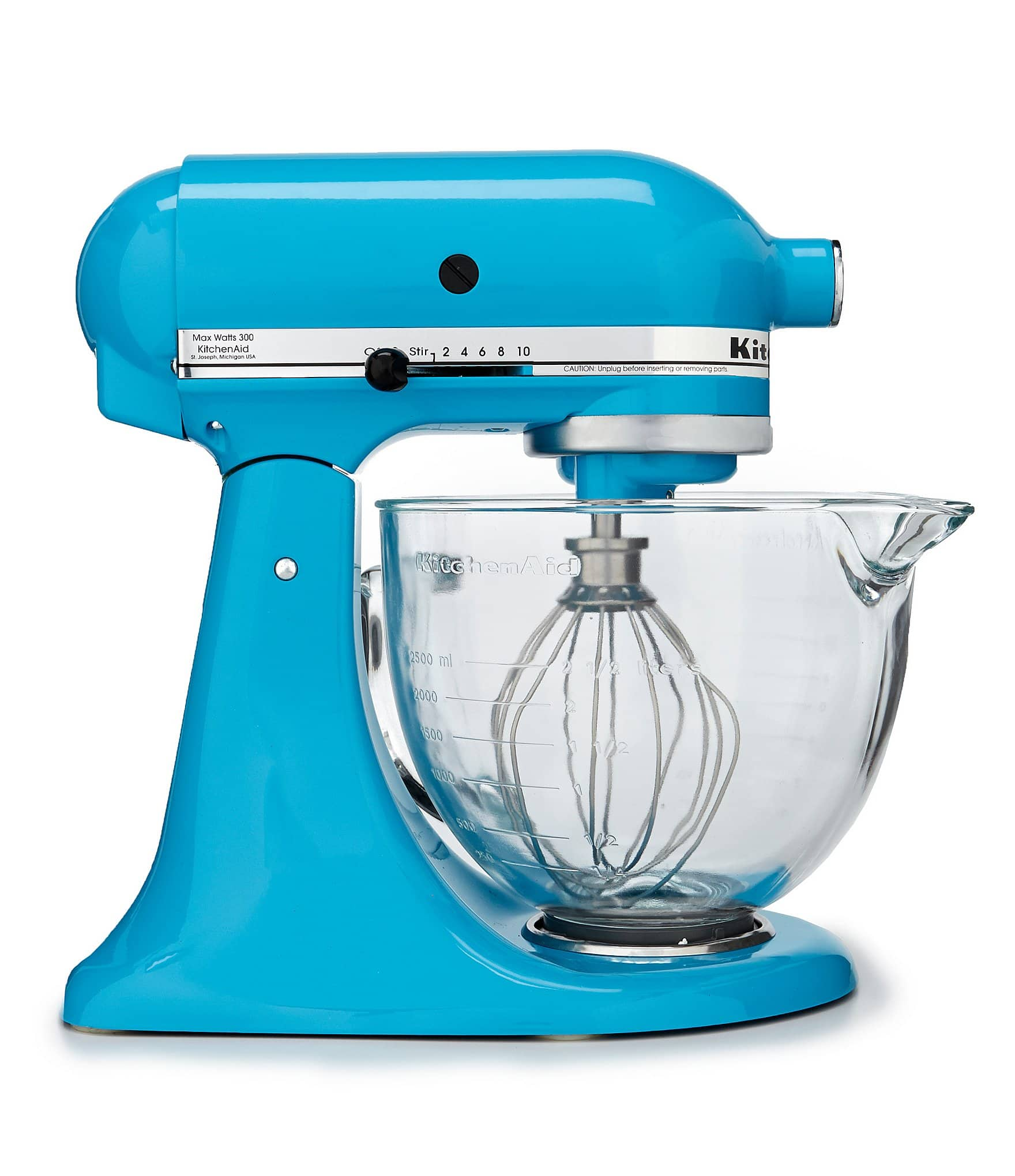 KitchenAid 5-Quart Tilt-Head Stand Mixer with Glass Bowl $120 ...