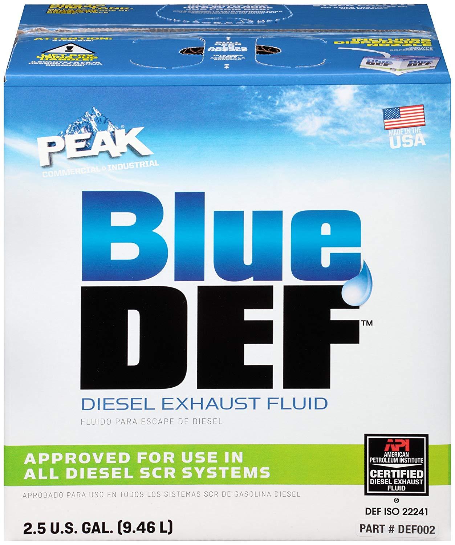 BLUEDEF Diesel Exhaust Fluid, 2.5 gal $12.47