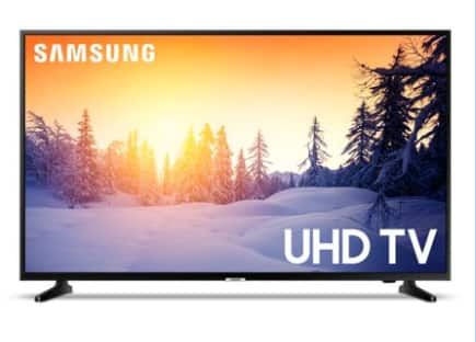"SAMSUNG 50"" Class 4K UHD 2160p LED Smart TV with HDR UN50NU6900 $278+FS"