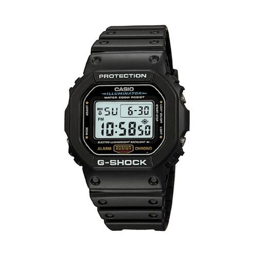 Casio Men's G-Shock Illuminator Chronograph Digital Sports Watch - DW5600E-1V $45.46