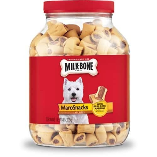 Milk-Bone MaroSnacks Dog Treats for All Sizes Dogs, 40-Ounce [Marrow, 40-Ounce] $6.29
