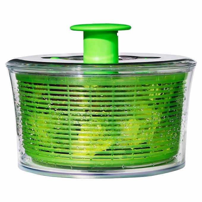 OXO SoftWorks Salad Spinner - $14.97