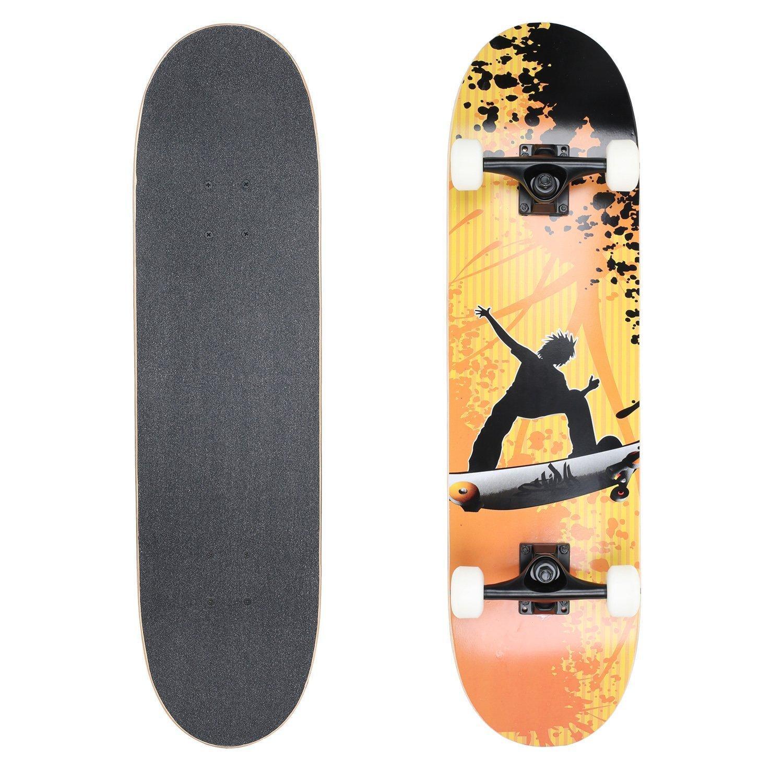 "VOKUL 31"" Complete Skateboard $19.95 @Amazon"