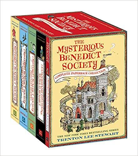 The Mysterious Benedict Society Complete Paperback Collection $10.87
