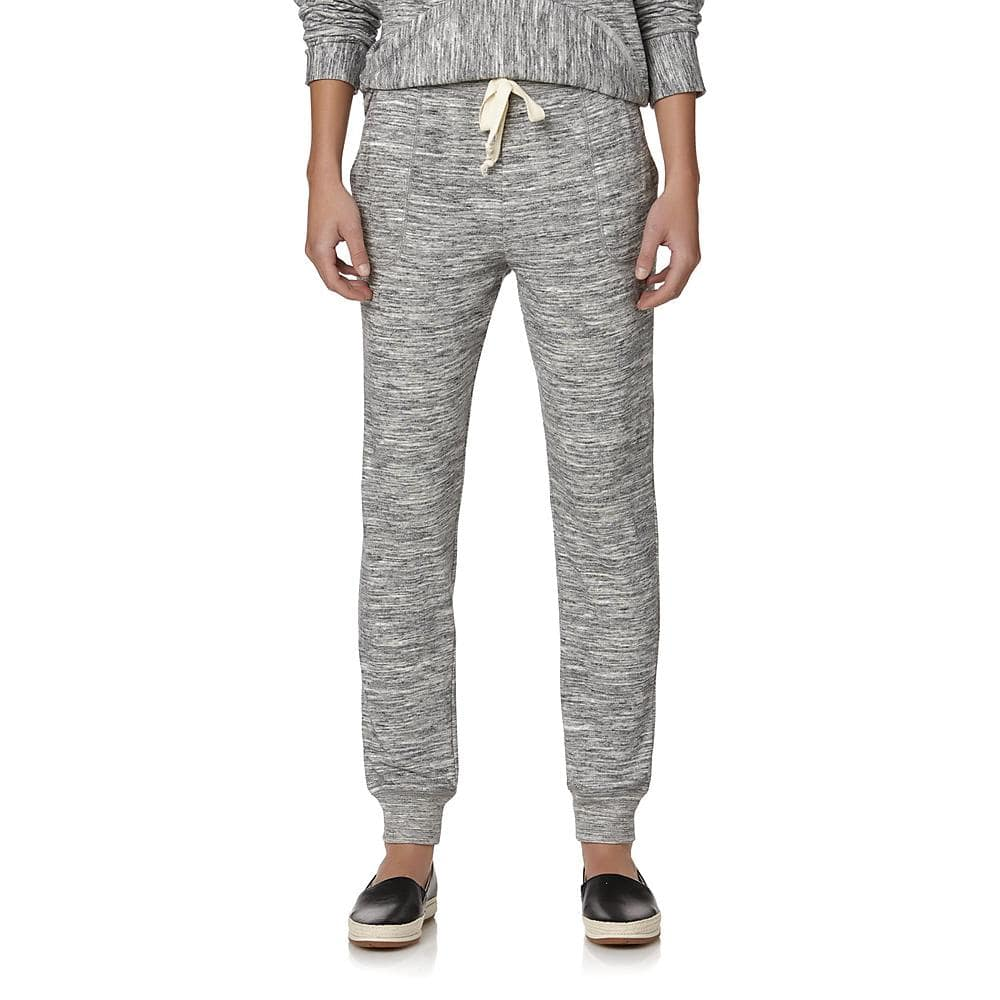 Sears: $5.99 Simply Styled Women's Jogger Sweatpants - Space-Dyed! (Reg. $14.99)