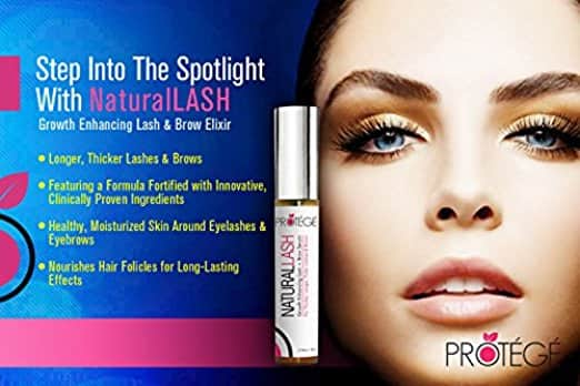 Eyelash and Eyebrow Growth Serum - NaturalLASH, $7.50 (Reg. $25)